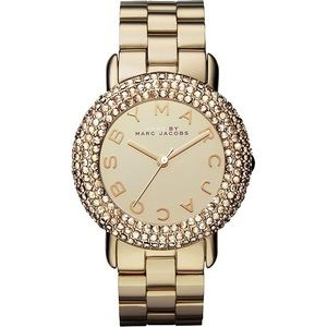 Marc By Marc Jacobs Marci Crystal Gold Watch